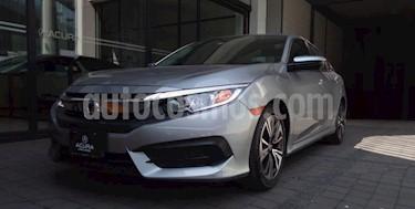 Honda Civic 4P TURBO SEDAN CVT 1.5T 174 HP QC RA-17 usado (2017) color Plata precio $298,000