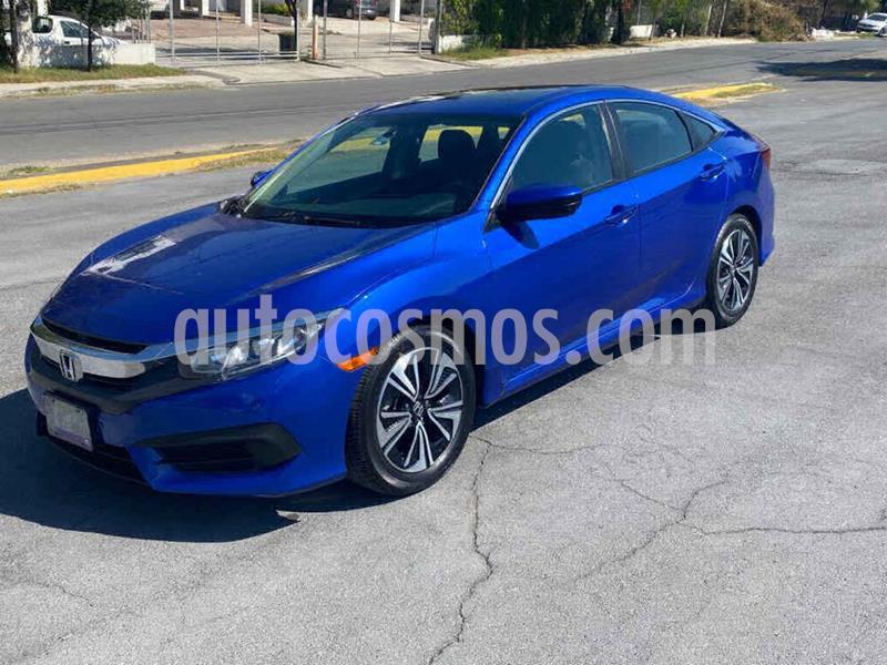 Honda Civic Turbo Aut usado (2016) color Azul precio $239,000