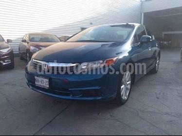 Honda Civic EX 1.8L Aut usado (2012) color Azul precio $149,000