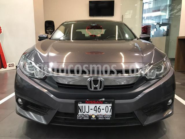 Honda Civic 4P TURBO SEDAN CVT 1.5T 174 HP QC RA-17 usado (2016) color Gris precio $269,900