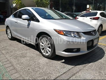 Honda Civic 2P COUPE TM5 CD PANTALLA QC RA-16 usado (2012) color Plata precio $149,000