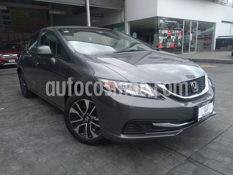 Honda Civic EX 1.8L usado (2013) color Gris precio $160,000
