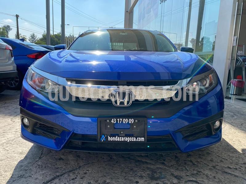 Honda Civic Turbo Plus Aut usado (2018) color Azul precio $319,000