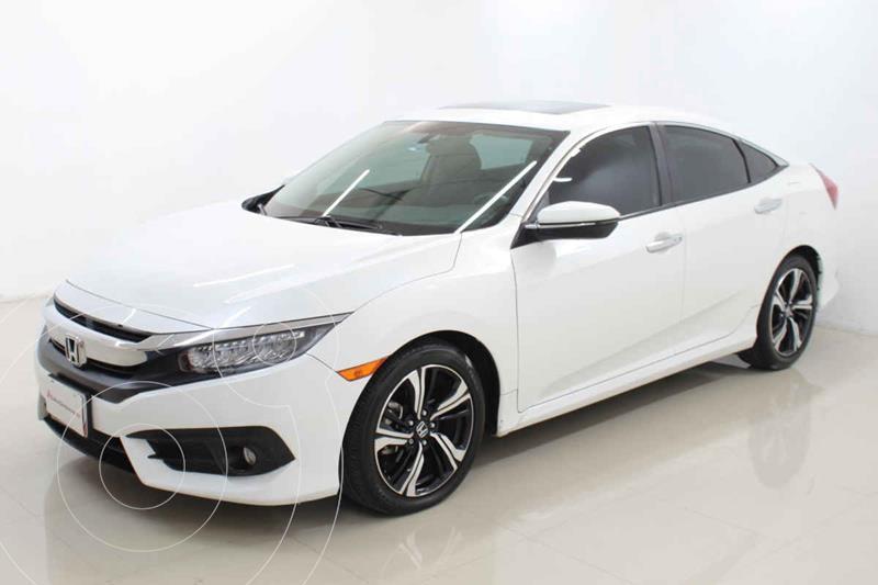 Foto Honda Civic Touring Aut usado (2018) color Blanco precio $385,000