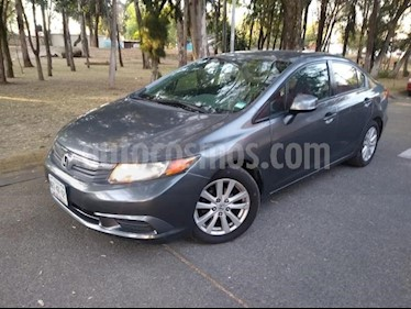 Honda Civic 4P EX SEDAN AT PANTALLA RA-16 usado (2012) color Gris precio $149,000
