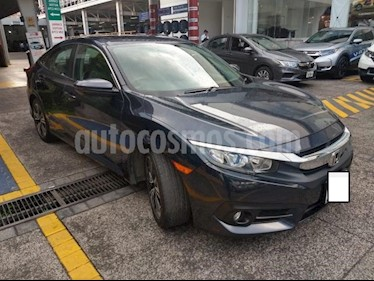 Honda Civic 4p Turbo Plus L4/1.5/T Aut usado (2017) color Azul precio $320,000