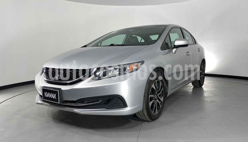 Honda Civic EX 1.8L usado (2014) color Gris precio $184,999