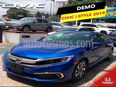 Honda Civic 4p i-Style L4/2.0 Aut usado (2019) color Azul precio $334,312
