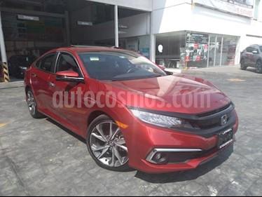 Foto Honda Civic 4p Touring L4/1.5/T Aut usado (2019) color Rojo precio $413,757