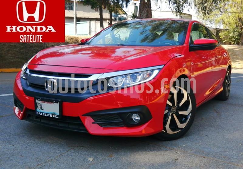 Honda Civic Coupe Turbo Aut usado (2017) color Rojo precio $288,000