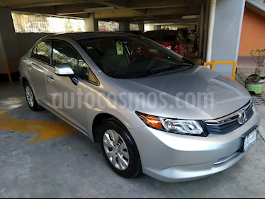 Honda Civic LX 1.8L Aut usado (2012) color Plata precio $132,500