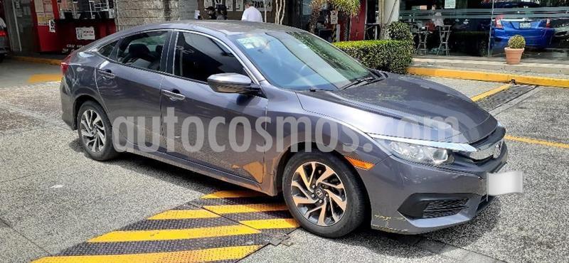 Honda Civic Si Sedan usado (2016) color Gris Oscuro precio $249,000