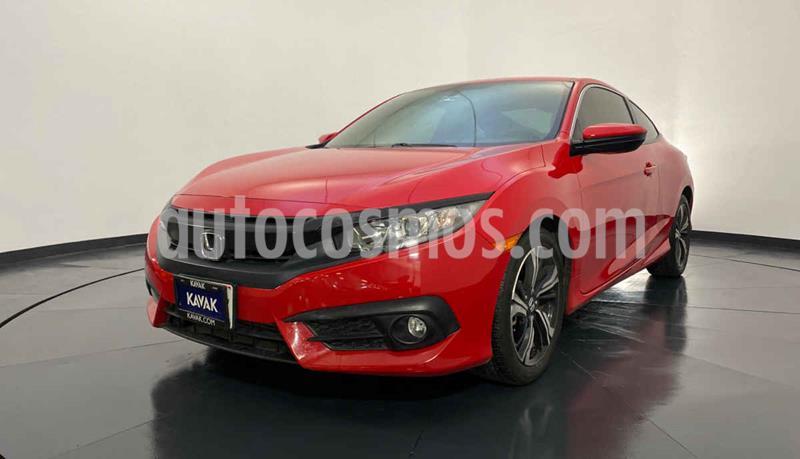 Honda Civic Coupe Turbo Aut usado (2018) color Rojo precio $357,999