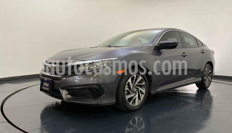 Honda Civic Coupe EX 1.8L Aut usado (2015) color Gris precio $242,999