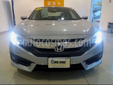 Honda Civic Coupe Turbo Aut usado (2017) color Plata precio $290,000