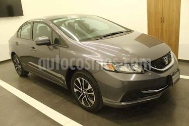 Honda Civic 4p EX Sedan L4/1.8 Aut usado (2015) color Gris precio $189,000