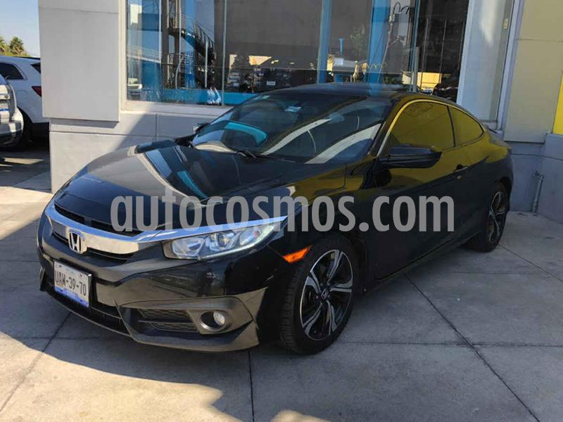 Honda Civic Coupe Turbo Aut usado (2017) color Negro precio $287,000