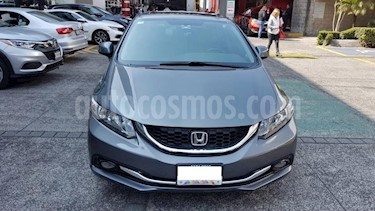 Honda Civic 4P EX SEDAN AT PANTALLA RA-16 usado (2013) color Gris precio $159,000