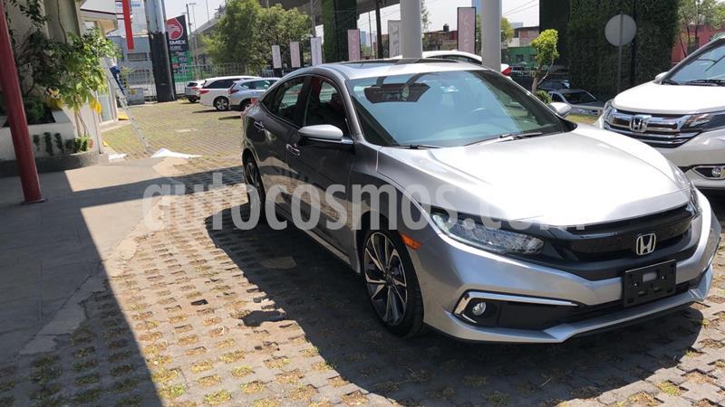 Honda Civic Touring Aut usado (2020) color Plata Lunar precio $418,000
