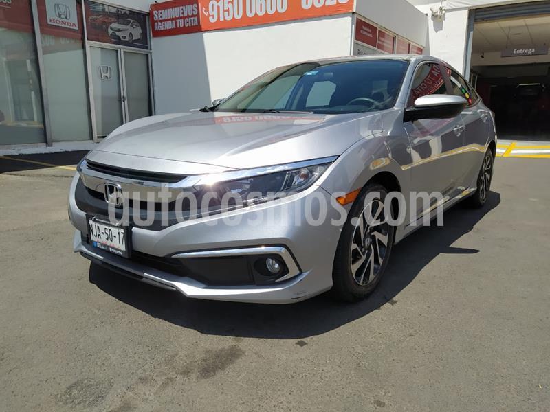 Honda Civic i-Style Aut usado (2019) color Plata precio $335,000