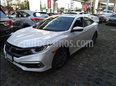 Honda Civic Turbo Plus Aut usado (2019) color Blanco precio $375,000
