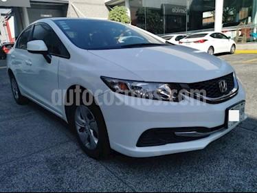 Honda Civic 4P LX SEDAN TM5 CD R-15 usado (2013) color Blanco precio $163,000