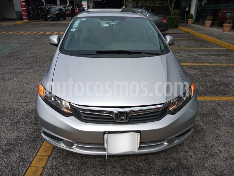 Honda Civic EXL 1.8L Aut usado (2012) color Plata Dorado precio $157,000