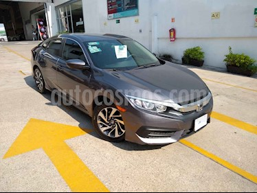 Honda Civic 4p EX Sedan L4/2.0 Man usado (2018) color Gris precio $260,000