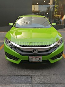 Honda Civic Coupe Turbo Aut usado (2016) color Verde precio $245,000