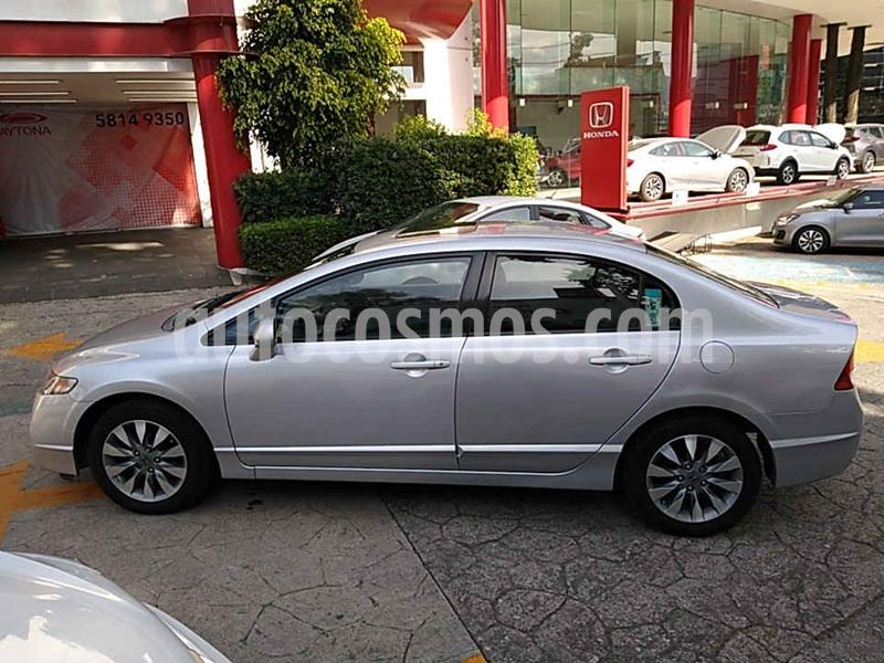 Honda Civic EX 1.8L Aut usado (2009) color Plata precio $106,000