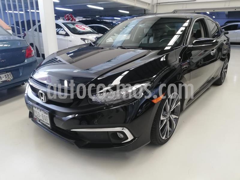 Honda Civic Touring Aut usado (2019) color Negro precio $409,100