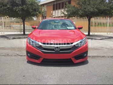 Honda Civic Coupe Turbo Aut usado (2016) color Rojo precio $269,900