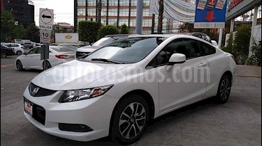 Honda Civic 2p Coupe L4/1.8 Aut usado (2014) color Blanco precio $169,000