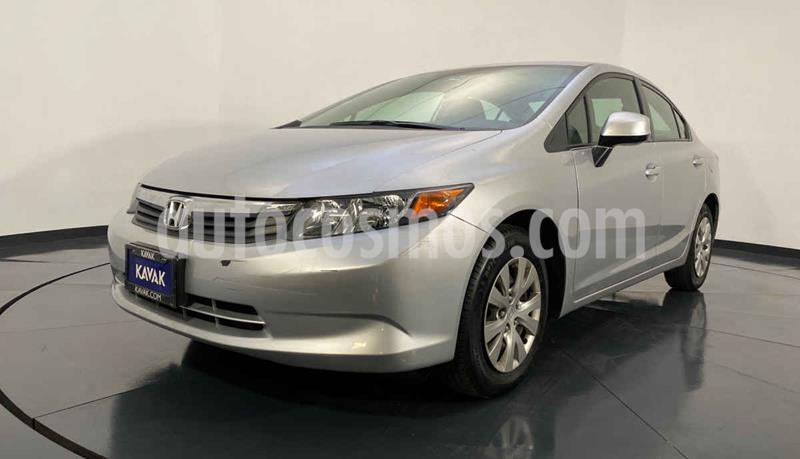 Honda Civic LX 1.8L Aut usado (2012) color Gris precio $144,999