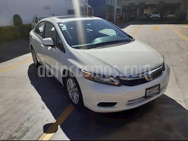 Honda Civic EXL 1.8L Aut usado (2012) color Blanco precio $159,000