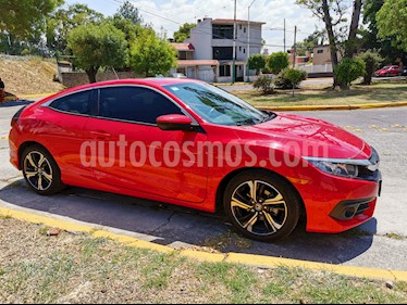 Honda Civic Coupe Turbo Aut usado (2017) color Rojo precio $310,000