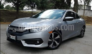Honda Civic 2p Coupe Turbo L4/1.5/T Aut usado (2016) color Plata precio $269,000