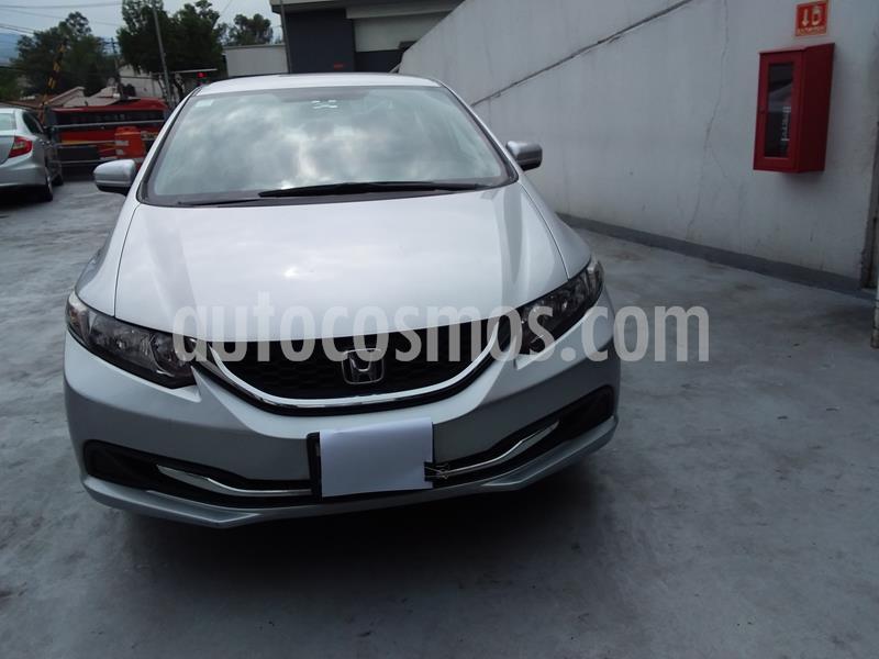 Honda Civic EXL 1.8L usado (2015) color Plata precio $170,000