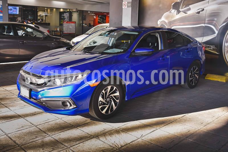 Honda Civic i-Style Aut usado (2020) color Azul precio $365,000