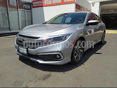 Honda Civic i-Style Aut usado (2019) color Plata Lunar precio $356,000