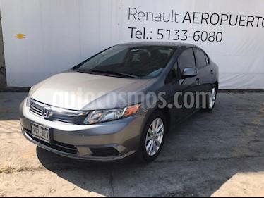 Honda Civic EX Aut usado (2012) color Gris precio $153,000