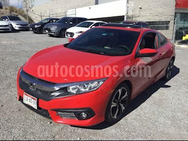 Honda Civic Coupe Turbo Aut usado (2016) color Rojo precio $278,000