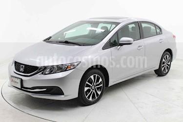 Honda Civic 4p EX Sedan L4/1.8 Aut usado (2015) color Plata precio $229,000