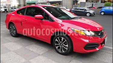 Honda Civic 2p Coupe L4/1.8 Aut usado (2014) color Rojo precio $195,000