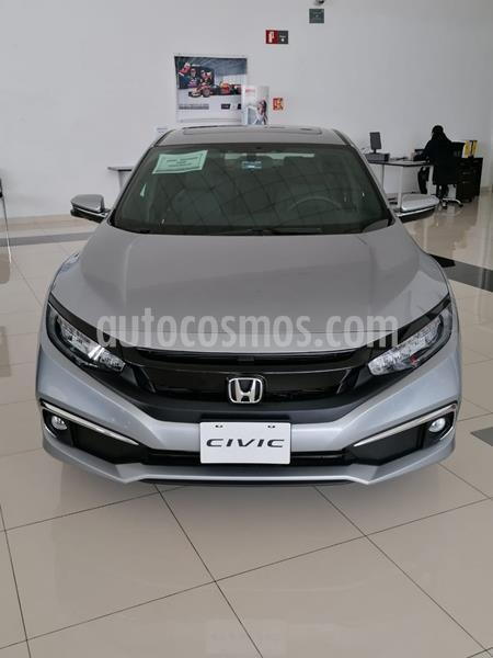 Honda Civic Touring Aut usado (2020) color Plata Lunar precio $455,900