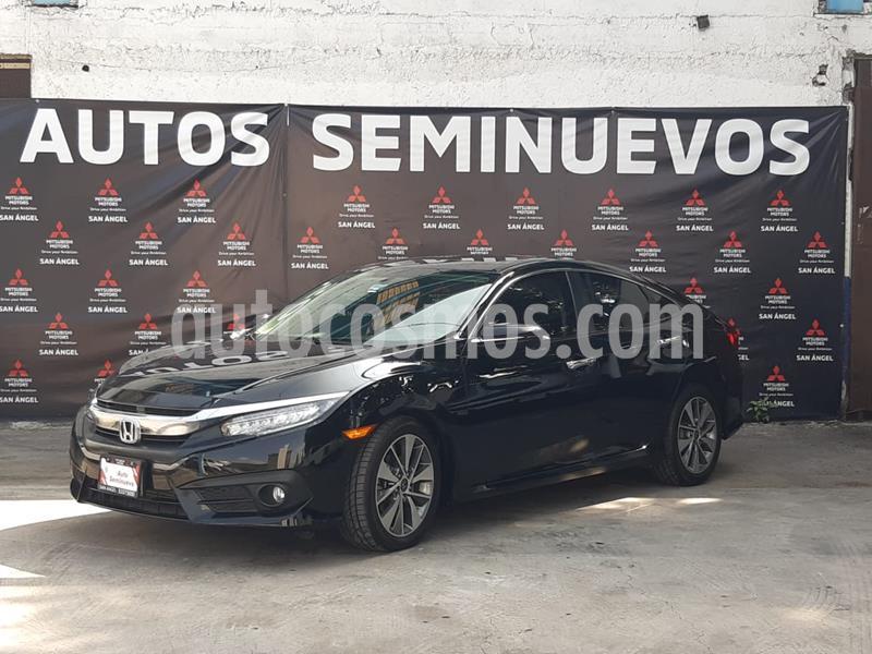 Honda Civic Touring Aut usado (2018) color Negro precio $347,000