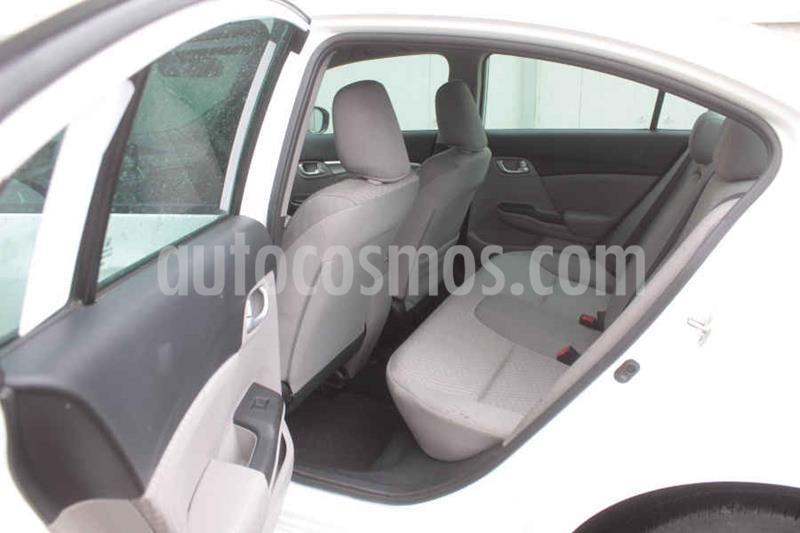 Honda Civic EX 1.8L Aut usado (2015) color Blanco precio $195,000