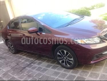Honda Civic EX 1.7L Aut usado (2014) color Blanco precio $178,000