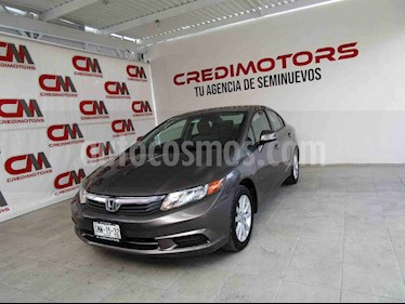 Honda Civic EX 1.8L Aut usado (2012) color Gris precio $142,000
