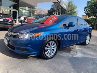 Honda Civic EX 1.8L usado (2012) color Azul precio $145,000